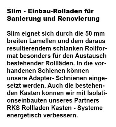 Einbau Rollladen für Sanierung aus  Saarland
