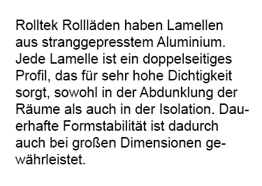 Lamelle mit doppelseitigem Profil aus 2740 Münster