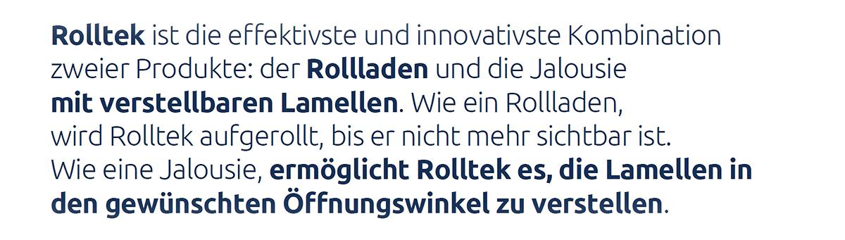 Rollladen Münster « Rolltek » Jalousien, Raffstores